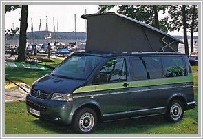 Volkswagen California 2.5 174 Hp